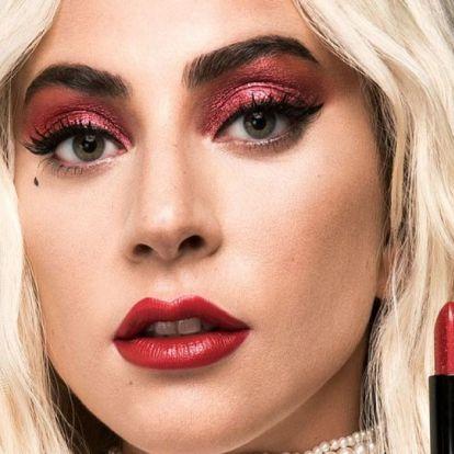 Lady Gaga csillogó rúzsa abszolút toplistás most a beauty-fanok között!
