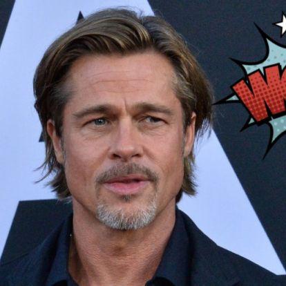 Brad Pitt már 20 éve nem sírt