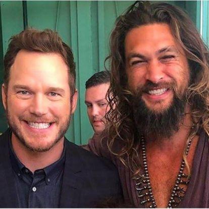 Beszólt Chris Prattnek Jason Momoa a vizespalackja miatt