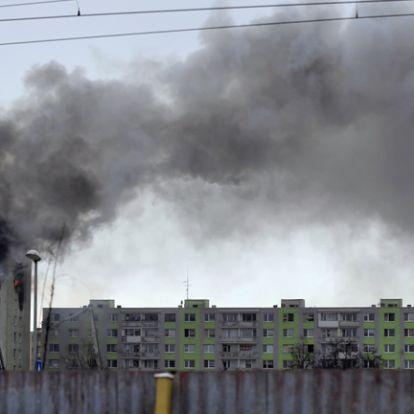 Egymillió euróval segíti Szlovákia a halálos gázrobbanás áldozatait