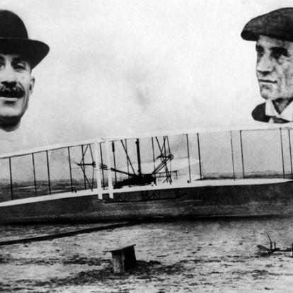 Tudta-e, hogy a Wright fivérek életükben csak egyszer emelkedtek közösen a magasba?