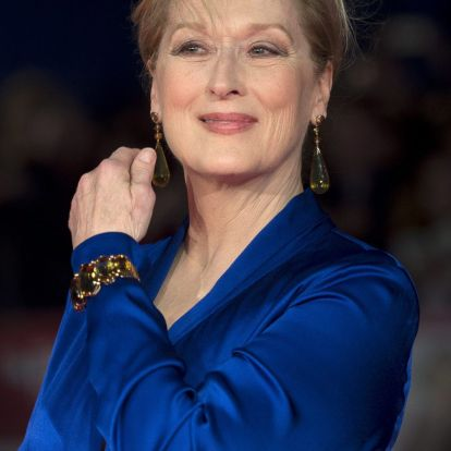 Meryl Streep saját rekordját döntötte meg 34. Golden Globe-jelölésével