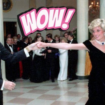 Elképesztő összegért árverezték el Diana hercegnő báli ruháját