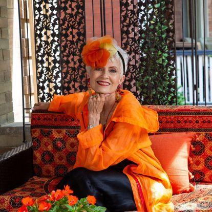 Judith, a 76 éves divatblogger nem mindennapi története