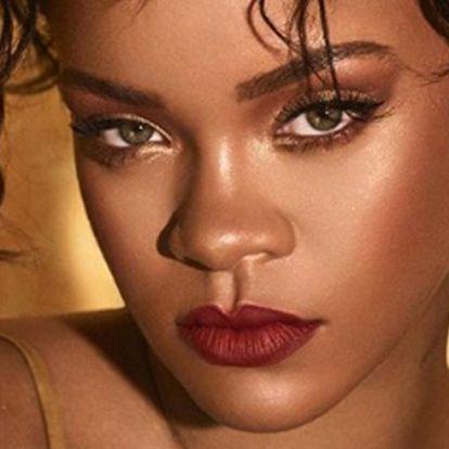Brutális dekoltázst villantott Rihanna