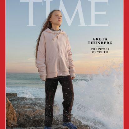 Greta Thunberg magányos klímasztrájkolóból hamar 2019 ikonjává vált
