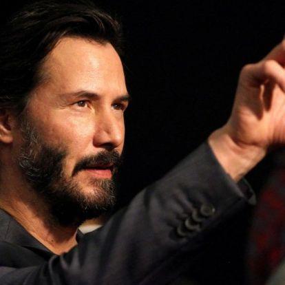 Keanu Reeves rajongói megnevezték, mikor lesz a Keanu Reeves-nap