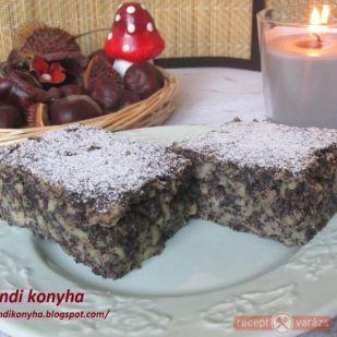 Almás-mákos kevert süti recept - kipróbált fényképes sütemény receptek - Receptvarázs – receptek képekkel