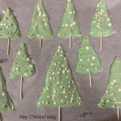 Habcsók karácsonyfa köntösben