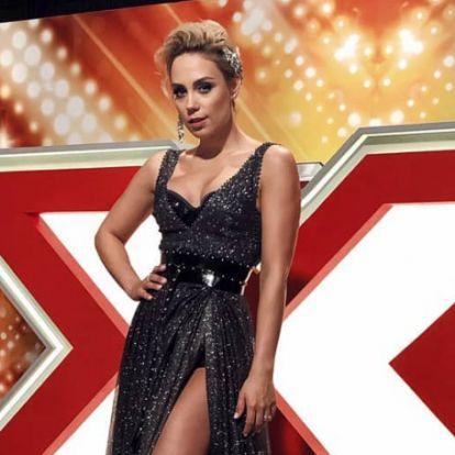 Ebben a csodálatos ruhában tündököl Kiss Ramóna az X-Faktor fináléjában