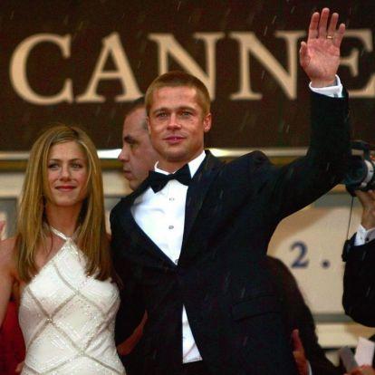 Jennifer Aniston y Brad Pitt se van de fiesta por Navidad