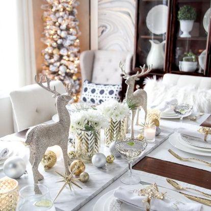 Inspiráló karácsonyi terítékek