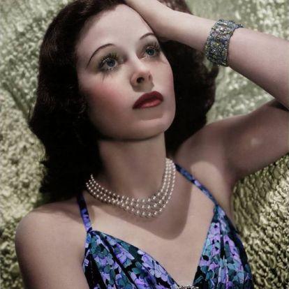 Hedy Lamarr - Gyönyörű színésznő, és még zseni is