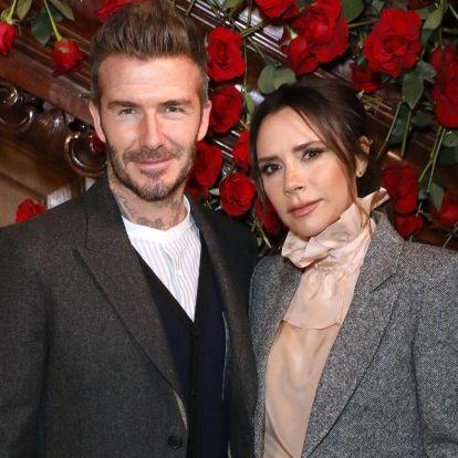 Beckhaméknek is belefért egy-egy kínos karácsonyi üdvözlőlap
