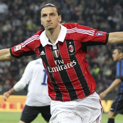 Zlatan Ibrahimovic klar for AC Milan