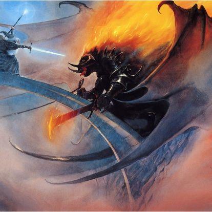 Gandalf és a balrog, avagy Mória mélységei