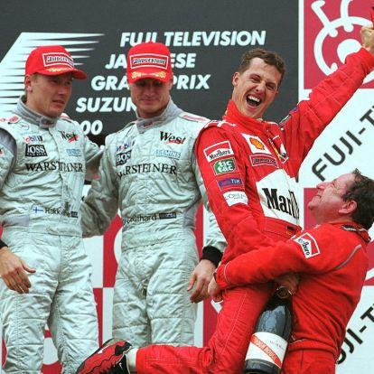 Egészen durva, hogy két évtizedben is Schumacher volt a legsikeresebb F1-es pilóta