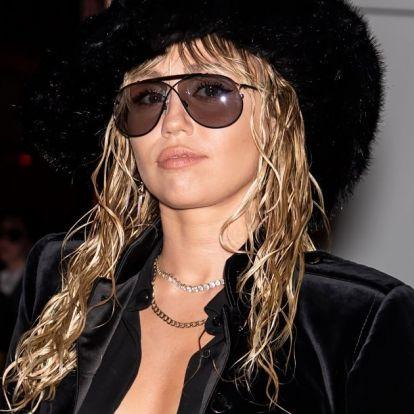 Miley Cyrus Bundesliga-sérót vágatott magának: olyat, amilyet apja viselt éveken át