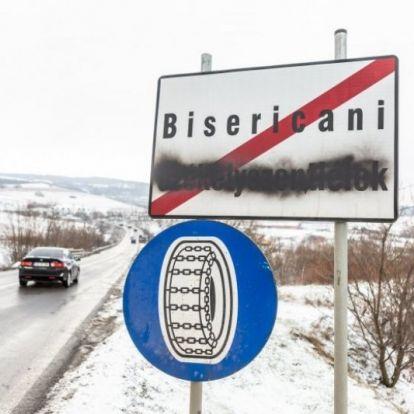 Nagyon bántják a szemet a magyar helységnevek Udvarhelyszéken