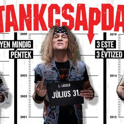 Három korszakból ad 1-1 koncertet a Tankcsapda