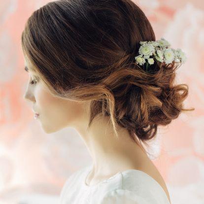 Álomszép frizuratipp menyasszonyoknak: ki sem akarod majd bontani a hajad