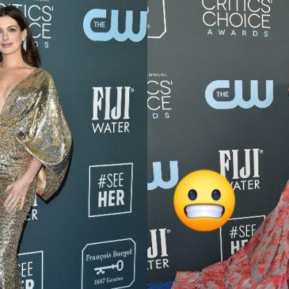 A Critics' Choice Awards legszebb és legrondább ruhái