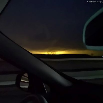 Tartós atomvillanás az este sötétjében, avagy az ég Siechnice fölött