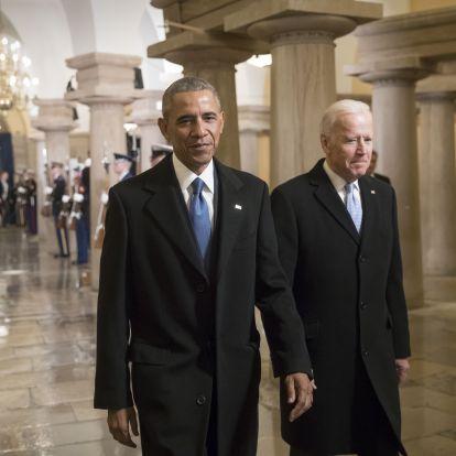Egy évig ütötték, de még mindig Obama volt alelnöke a legesélyesebb demokrata elnökjelölt