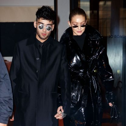 Gigi Hadid & Zayn Malik Prove That Coordinated Couple's Outfits Can Be Super Chic