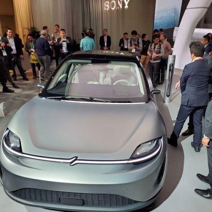 CES 2020: Autót gyárt a Sony? Nem, de segít