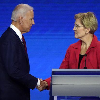Meglepő eredményt hozott a demokraták elnökjelöltvitája