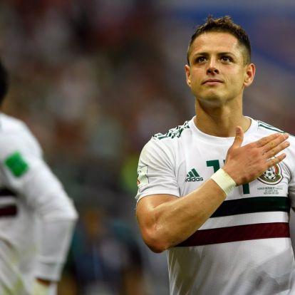 "Megvan Javier ""Chicharito"" Hernandez új klubja – sajtóhír"