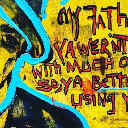 Stallone saját festményeiből is nyílik egy kiállítás