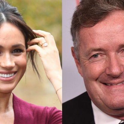 Piers Morgan delte privat melding fra Meghan Markle - blir beskyldt for å være «en ekstrem stalker»