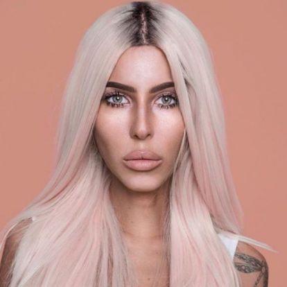 Cinthya Dictatort agyondicsérik, amiért Kim Kardashiannak öltözött