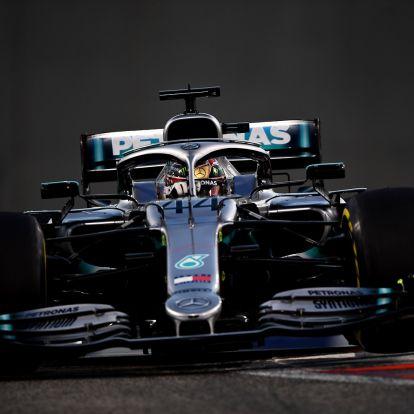 F1: Bálint-napon jön az új Mercedes