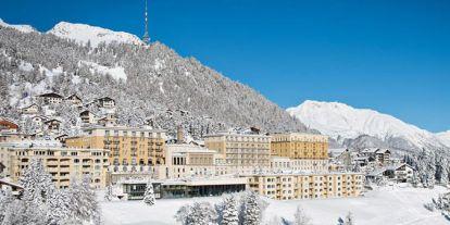 Un palacio en la nieve: así es el lugar en el que celebran su boda Dasha Zhukova y Stavros Niarchos III