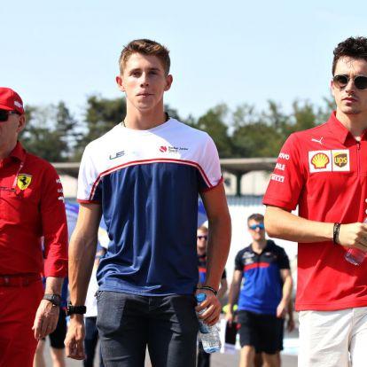 Biztosra akar menni a Ferrari: leigazolta Leclerc öccsét is