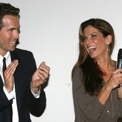 Mindent a szülinaposért: Sandra Bullock és Ryan Reynolds egymást túlszárnyalva duettezett
