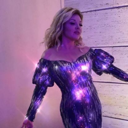 Nem, nem jött ki a Jégvarázs 3, ez Liptai Claudia egy jótékonysági esten
