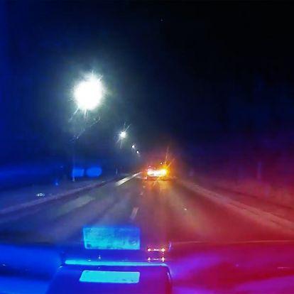 A soproni rendőrök nem értékelték, hogy előttük driftelt a BMW-s