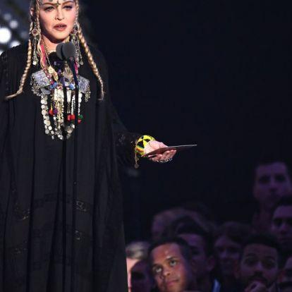 Madonna ez alkalommal túl messzire ment