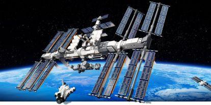 A Lego eljuttatta az űrbe a saját nemzetközi űrállomását