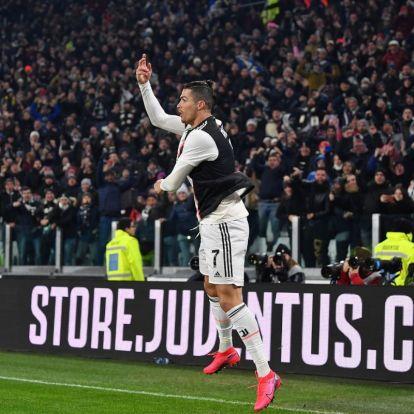Olasz Kupa: Ronaldo megállíthatatlan, Roma-verés után elődöntős a Juve – videóval