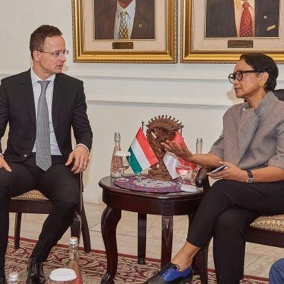 Szijjártó: Indonézia és Magyarország ötszázmillió dolláros közös befektetési alapot hoz létre
