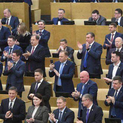 Első olvasatban megszavazta Putyin alkotmánymódosítását az orosz alsóház