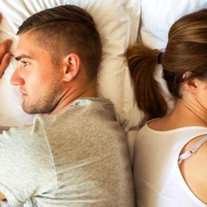 Komoly bajt jelez a fájdalmas szex