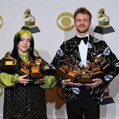 Grammy 2020: Billie Eilish besöpört mindent