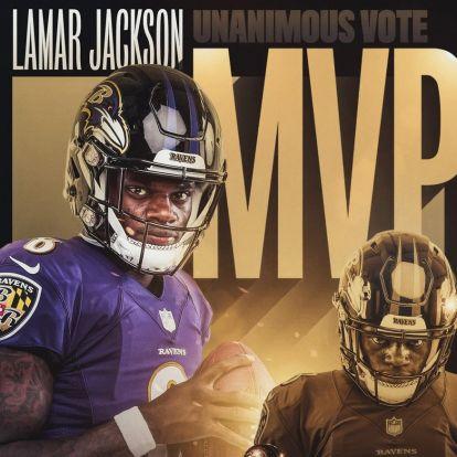 Lamar Jackson az MVP!