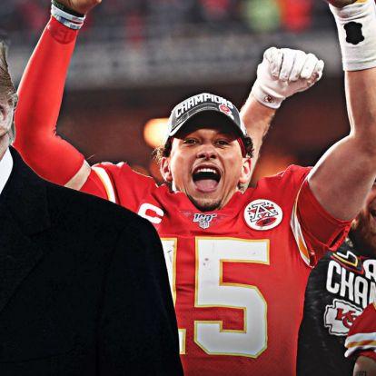 Donald Trump gratulált a Super Bowl után, csak egy másik államnak